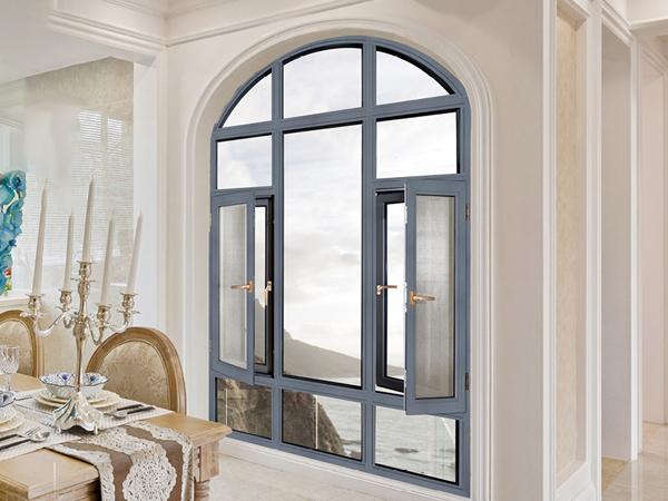 TJ108NWP慕威系统窗纱一体平开窗